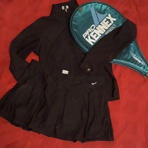 Nike tennis skirt and jacket